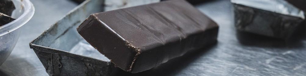 Tablettes de chocolat artisanal