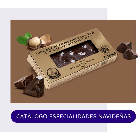 Catálogo Especialidades Navideñas 2021  Chocolates Marcos Tonda