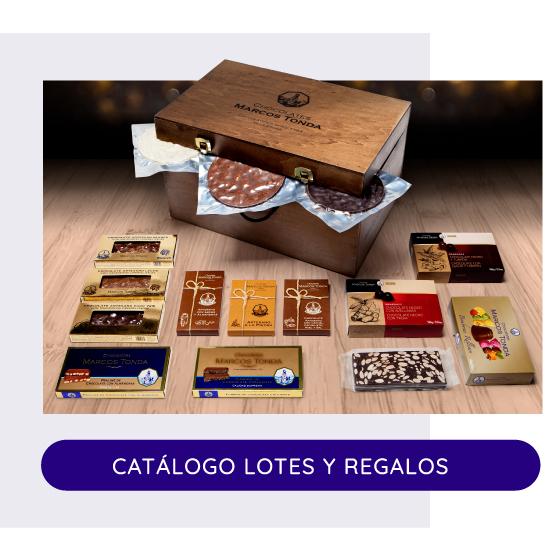 Catálogo Lotes y Regalos Navidad 2021 Chocolates Marcos Tonda