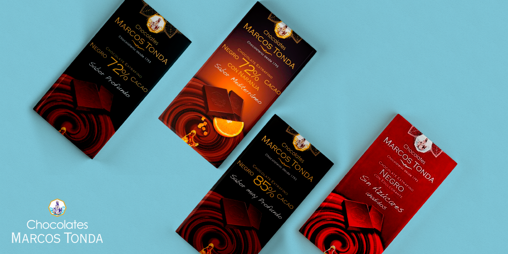 Chocolates Puros de Chocolates Marcos Tonda