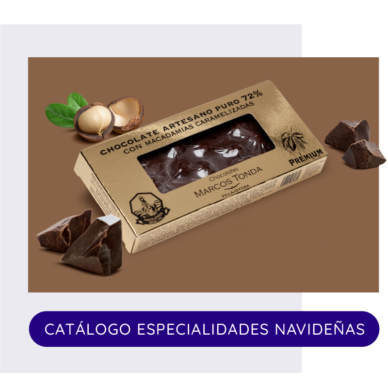 Especialidades Chocolates Marcos Tonda