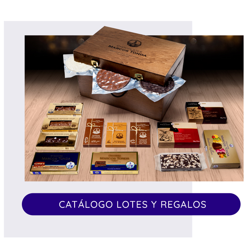 Lotes y Regalos Chocolates Marcos Tonda