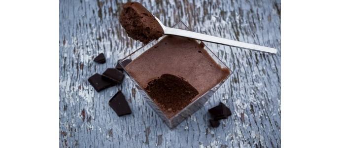 Receta: Mousse de Chocolate Negro con un toque de café