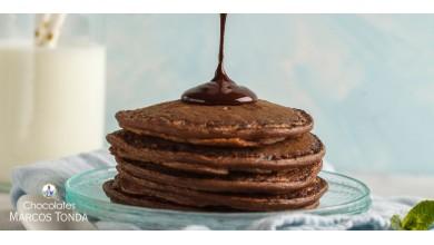 Receta: Tortitas de chocolate con cacao en polvo