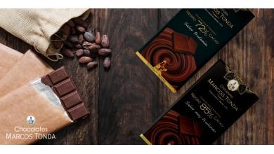Los mejores chocolates puros de Chocolates Marcos Tonda