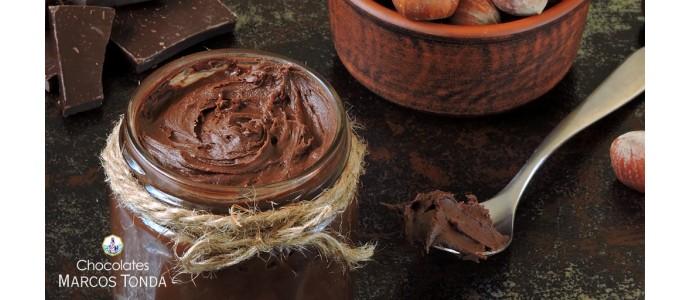 Receta de crema de chocolate y avellanas